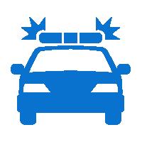 В случае угона, данные об автомобиле и координатах его расположения мгновенно передаются в правоохранительные органы, после чего осуществляется поиск и возврат автомобиля совместно с экипажами полиции.